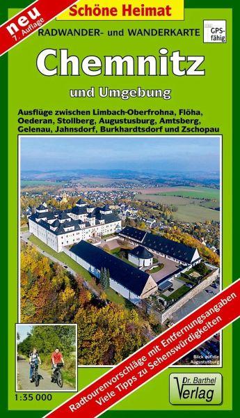 Karte Chemnitz Und Umgebung.Doktor Barthel Karte Chemnitz Und Umgebung