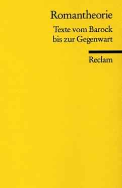 Romantheorie - Steinecke, Hartmut / Wahrenburg, Fritz (Hgg.)