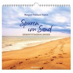 Spuren im Sand. Geburtstags-Kalender - Powers, Margaret Fishback