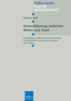 Konsolidierung zwischen Markt und Staat