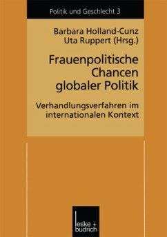 Frauenpolitische Chancen globaler Politik