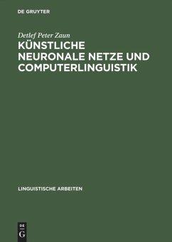 Künstliche neuronale Netze und Computerlinguistik
