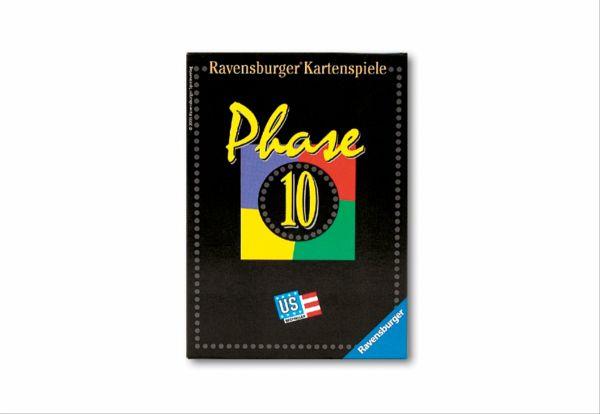 10 Phasen Kartenspiel