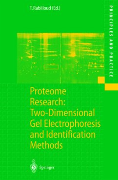 Proteome Research: Two-Dimensional Gel Electrophoresis and Identification Methods - Rabilloud