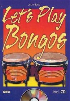 Let´s Play Bongos, m. CD-Audio