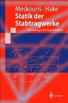Statik der stabtragwerke von konstantin meskouris erwin for Statik der stabtragwerke