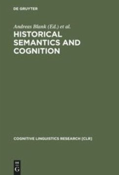 Historical Semantics and Cognition - Blank, Andreas / Koch, Peter (eds.)