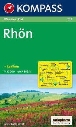 Kompass Karte Rhön