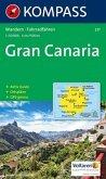 Kompass Karte Gran Canaria