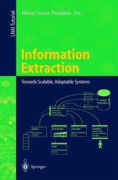Information Extraction - Pazienza, Maria T. (ed.)