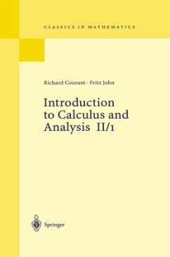 Introduction to Calculus and Analysis II/1 - Courant, Richard; John, Fritz