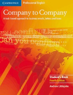 Company to Company. New edition. Student's Book - Littlejohn, Andrew