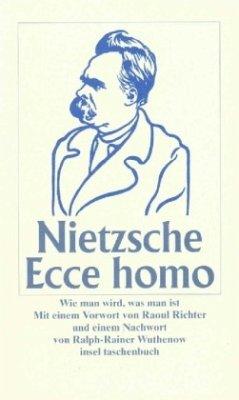 Ecce Homo, Sonderausgabe - Nietzsche, Friedrich