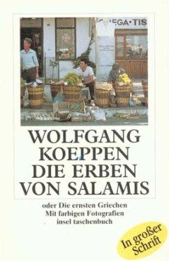 Die Erben von Salamis. Großdruck - Koeppen, Wolfgang