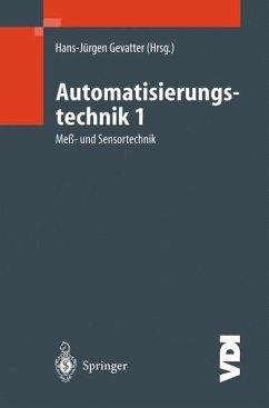 Automatisierungstechnik 1 - Gevatter, Hans-Jürgen (Hrsg.)