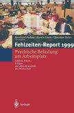 Fehlzeiten-Report 1999