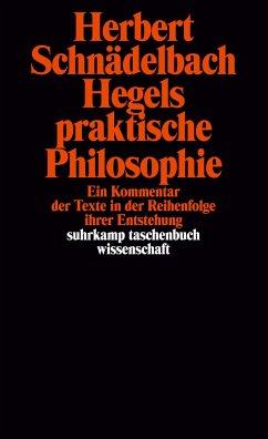 Hegels praktische Philosophie - Schnädelbach, Herbert