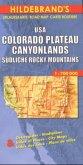 Hildebrand's Urlaubskarte USA, Colorado Plateau, Canyonlands, Südliche Rocky Mountains; USA, Colorado Plateau, Canyonlan