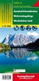 Freytag & Berndt Wander-, Rad- und Freizeitkarte Garmisch-Partenkirchen, Wettersteingebirge, Werdenfelser Land