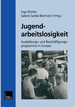 Jugendarbeitslosigkeit - Richter, Ingo / Sardei-Biermann, Sabine (Hgg.)