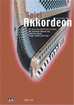 Spiel Akkordeon, m. Audio-CD