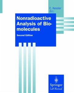 Nonradioactive Analysis of Biomolecules - Kessler, Christoph (ed.)