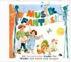 Die Lieder aus 2 Musikschuljahren, 1 Audio-CD / Musik-Fantasie Audio-CDs