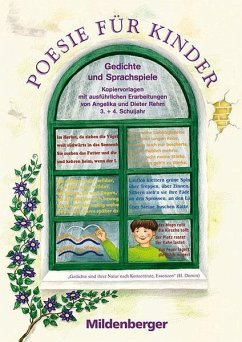 Poesie für Kinder. 3./4. Schuljahr. Gedichte un...