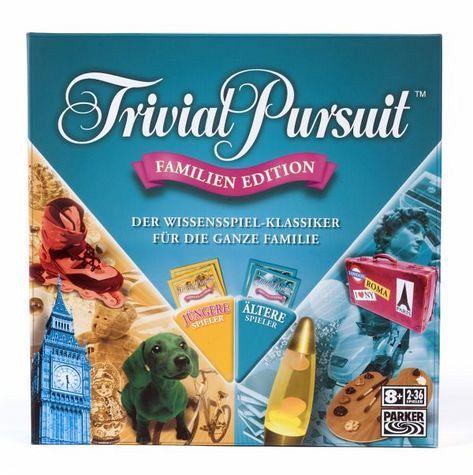 Hasbro 73013 - Parker: Trivial Pursuit, Familien-Edition