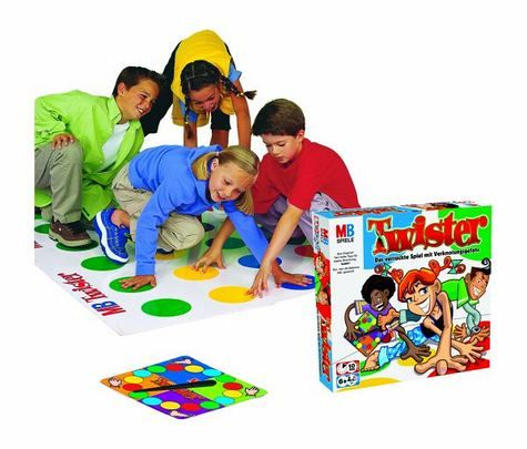 Hasbro 14525100 - MB Twister, Kinder-Party-Spiel