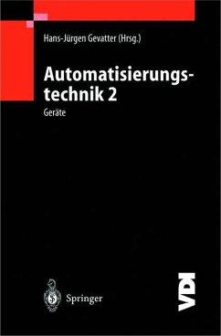 Automatisierungstechnik 2 - Gevatter, Hans-Jürgen (Hrsg.)