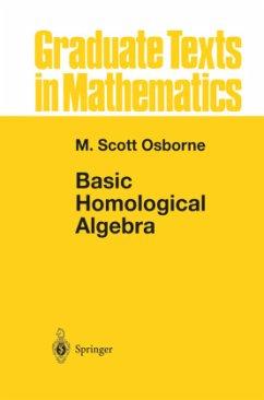 Basic Homological Algebra - Osborne, M. Scott