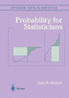 Probability for Statisticians - Shorack, Galen R.