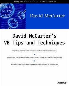 David McCarter's VB Tips and Techniques - McCarter, David