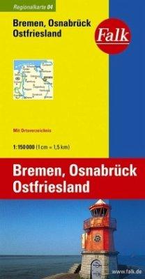 Falk Plan Bremen, Osnabrück, Ostfriesland