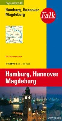 Falk Plan Hamburg, Hannover, Magdeburg