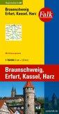 Falk Plan Braunschweig, Erfurt, Kassel, Harz