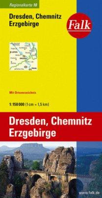 Falk Plan Dresden, Chemnitz, Erzgebirge
