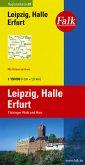 Falk Plan Leipzig, Halle, Erfurt