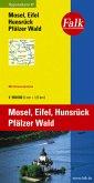 Falk Plan Mosel, Eifel, Hunsrück, Pfälzer Wald