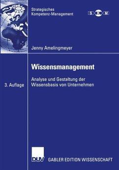 Wissensmanagement - Amelingmeyer, Jenny