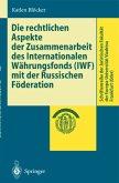 Die rechtlichen Aspekte der Zusammenarbeit des Internationalen Währungsfonds (IWF) mit der Russischen Föderation