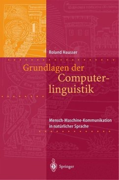 Grundlagen der Computerlinguistik