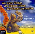 Wie Kater Zorbas der kleinen Möwe das Fliegen beibrachte, 2 Audio-CDs