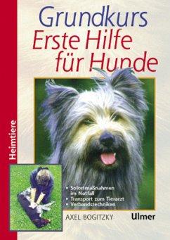 Grundkurs Erste Hilfe für den Hund - Bogitzky, Axel