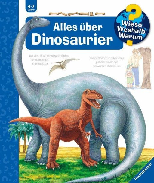 Alles über Dinosaurier Wieso Weshalb Warum Bd12