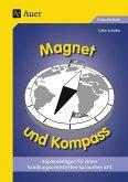 Magnet und Kompass