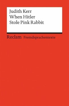 When Hitler Stole Pink Rabbit