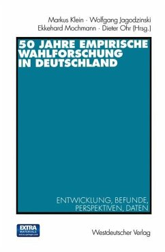 50 Jahre Empirische Wahlforschung in Deutschland