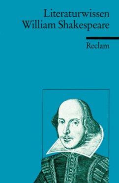 Literaturwissen William Shakespeare - Poppe, Reiner